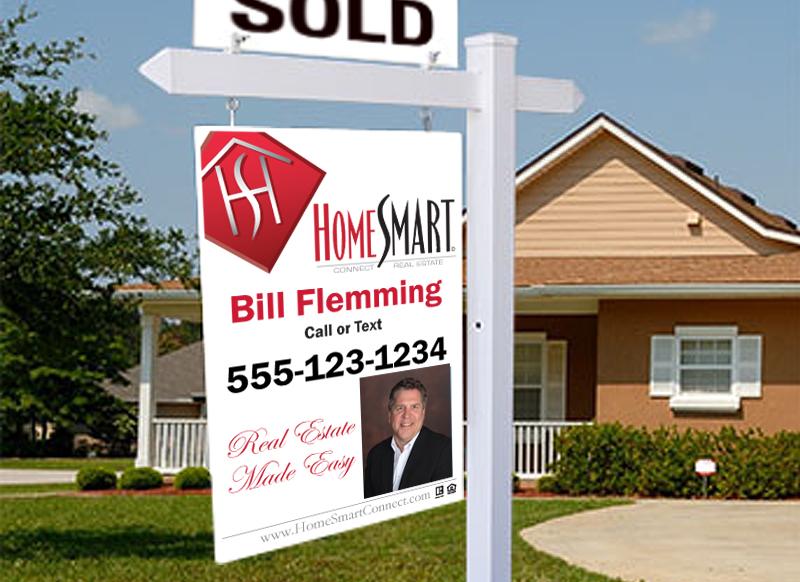 HomeSmart Yard Sign 24x36
